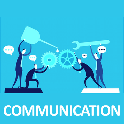 Communication infographic icon