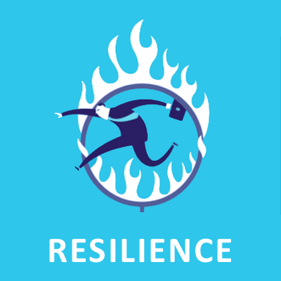 Resilience infographic icon