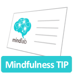 Mindfulness tip icon